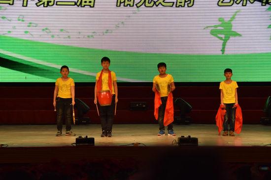 """""""唱响中国梦""""延寿县第四中学校园文化艺术节展示素质教育成果"""
