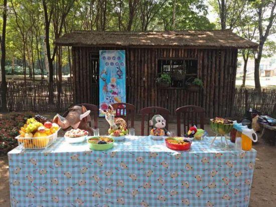 """北方森林动物园举行""""动物王国消夏派对"""""""