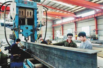 钢结构加工车间-黑龙江新闻-中国新闻网