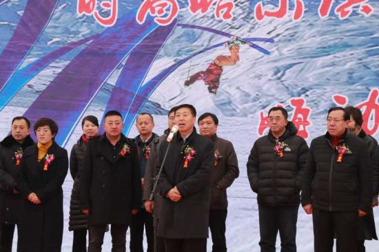 哈尔滨通河县铧子山滑雪场今日正式对外迎客拉萨到到北京自驾游攻略图片